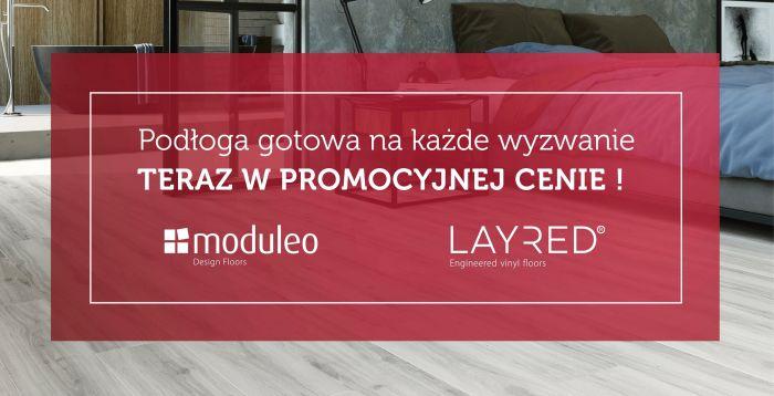 mardom-sp.pl - Promocja na panele winylowe LAYRED Moduleo - luty/kwiecień 2020 r.