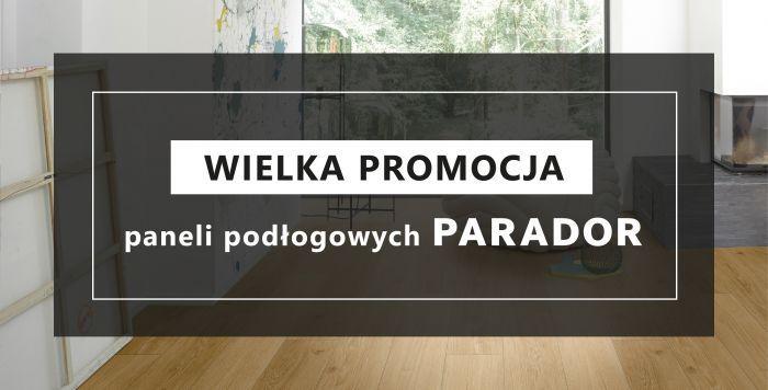 mardom-sp.pl - Wielka promocja paneli podłogowych Parador - luty/marzec 2020  r.