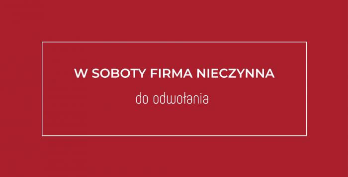 mardom-sp.pl - W soboty firma będzie nieczynna