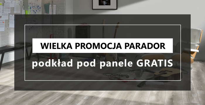 mardom-sp.pl - Promocja PARADOR - podkład pod panele GRATIS!