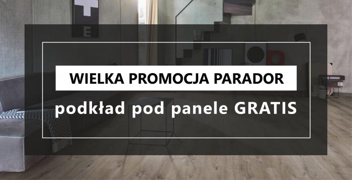 mardom-sp.pl - Podkład GRATIS przy zakupie paneli PARADOR - 26.10 - 24.12 2020 r.